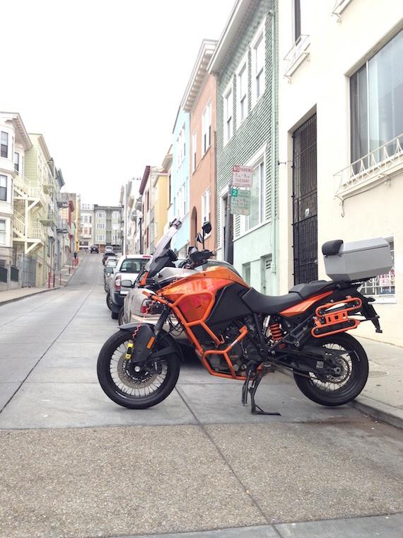 KTM 1190 Adventure San-Francisco