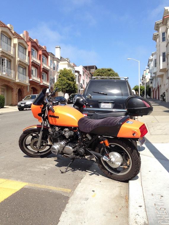 Vintage Suzuki San-Francisco